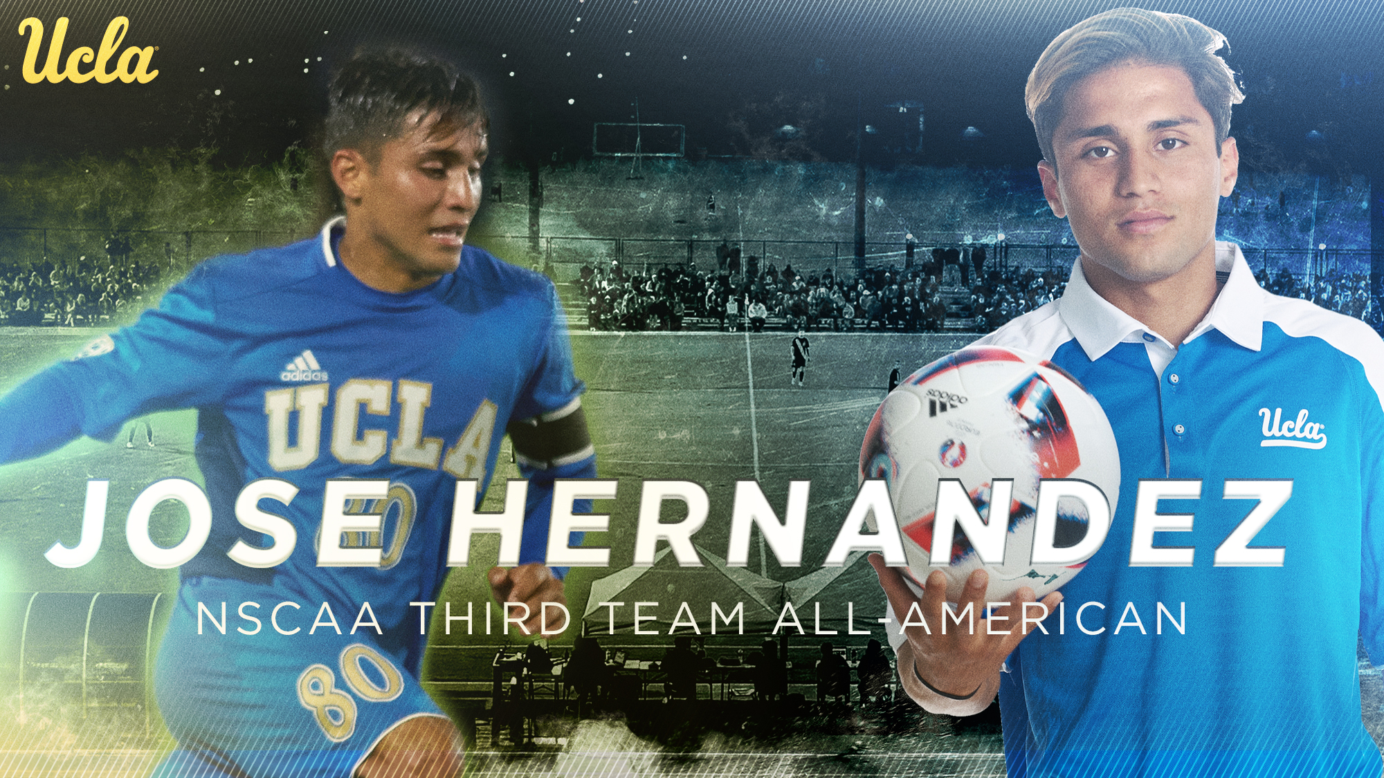 hernandez named nscaa all american uclabruins com ucla athletics